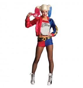 Costume Harley Quinn DC Comics® donna per una serata ad Halloween