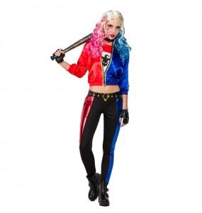 Travestimento Harley Quinn donna per divertirsi e fare festa