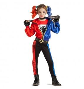 Travestimento Harley Quinn bambina che più li piace