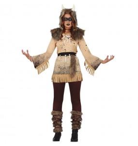 Costume da strega sciamanica per donna