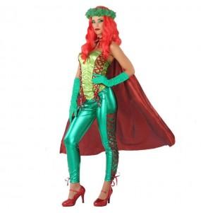 Travestimento Velenosa verde donna per divertirsi e fare festa