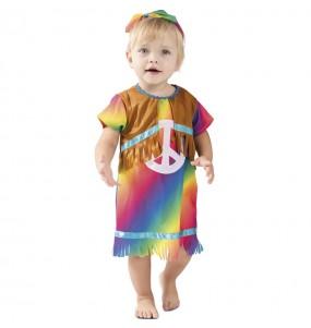 Costume da Hippie di pace per neonato