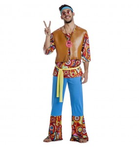 Costume da Hippie Happy per uomo