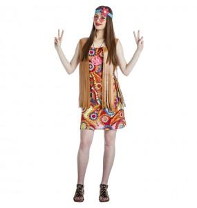 Costume da Hippie Happy per donna