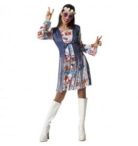 Costume da Hippie Peace per donna