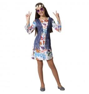 Costume da Hippie Peace per bambina