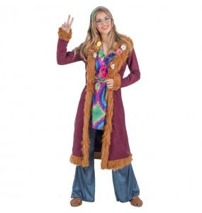 Travestimento Hippie Deluxe donna per divertirsi e fare festa