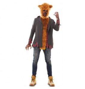 Costume da Lupo mannaro feroce per uomo