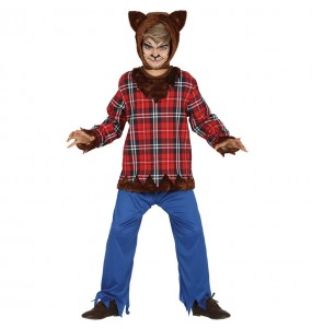 Travestimento Lupo mannaro bambini per una festa ad Halloween