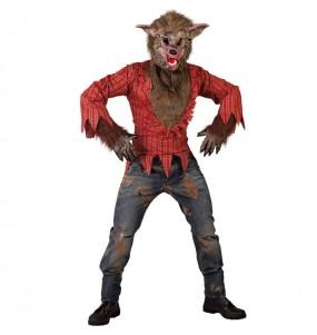 Costume da Lupo mannaro selvaggio per uomo
