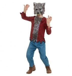 Costume da Lupo mannaro selvaggio per bambino