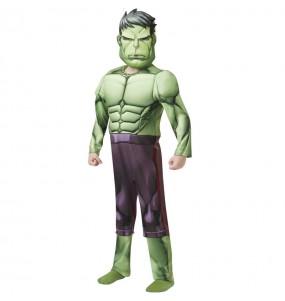 Costume da Hulk Deluxe per bambino