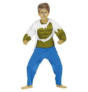 Travestimento Hulk bambino che più li piace