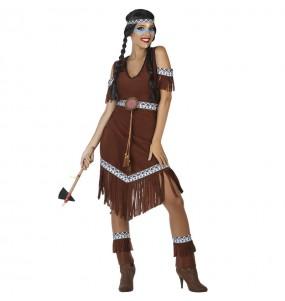 Costume da Indiana selvaggia per donna