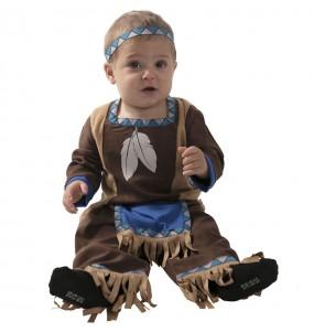 Costume da Indiano Apache per neonato