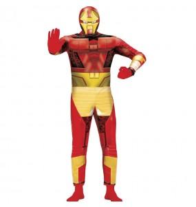 Travestimento Iron Man Bionic adulti per una serata in maschera