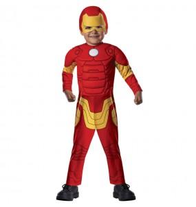 Travestimento Iron Man Marvel neonato che più li piace