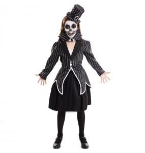 Costume da Jack Skeletron per bambina