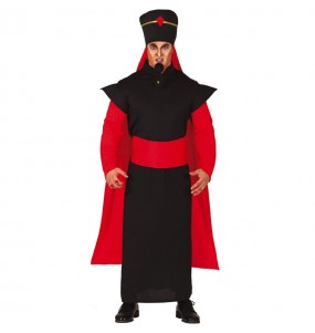 Travestimento Jafar Aladdin adulti per una serata in maschera
