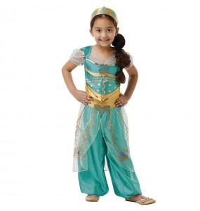 Travestimento principessa Jasmine Aladdin bambina che più li piace