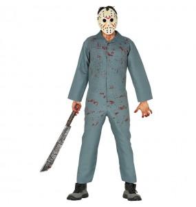 Travestimento Jason Venerdì 13 adulti per una serata ad Halloween