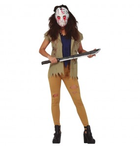 Costume da Jason assassina Venerdì 13 per donna