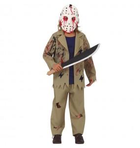 Costume da Jason Voorhees per bambino