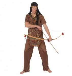 Costume da Indiano Marrone per uomo