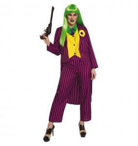 Costume da Joker Arkham per donna
