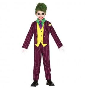 Travestimento Joker Arkham bambini per una festa ad Halloween