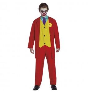 Travestimento Joker Joaquín Phoenix adulti per una serata in maschera