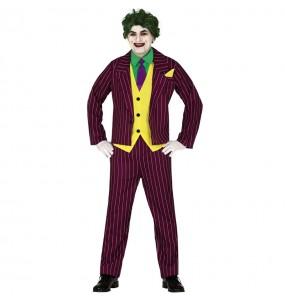Travestimento Joker Arkham adulti per una serata in maschera
