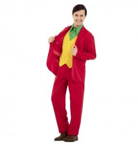 Costume da Joker rosso per uomo