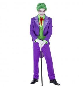 Travestimento Joker Villain adulti per una serata ad Halloween
