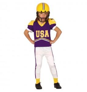 Travestimento Giocatore di football americano bambino che più li piace