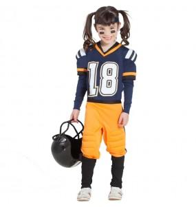 Travestimento Football Americano NFL bambina che più li piace