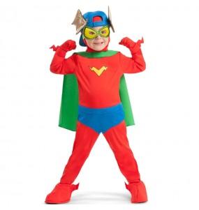 Costume Kid Fury SuperZings per bambini