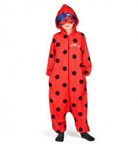 Travestimento giapponese Ladybug Kigurumi bambino che più li piace