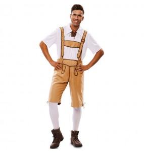 Costume da Lederhose Oktoberfest per uomo