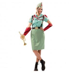 Travestimento Soldato legionario donna per divertirsi e fare festa