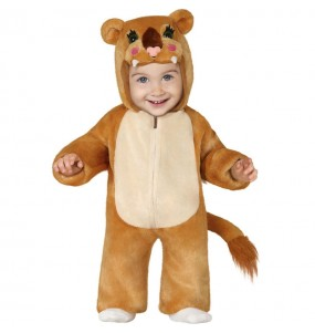 Costume da leonessa para neonato