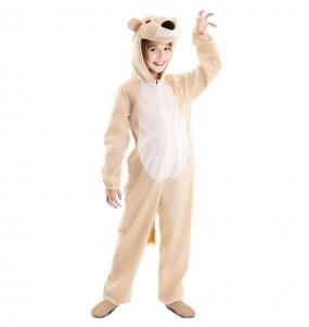 Costume da leonessa selvaggia per bambina