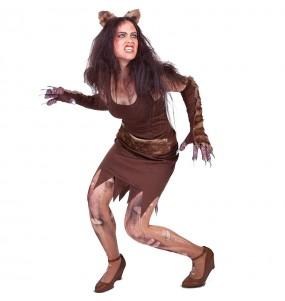 Costume Lupo mannaro donna per una serata ad Halloween