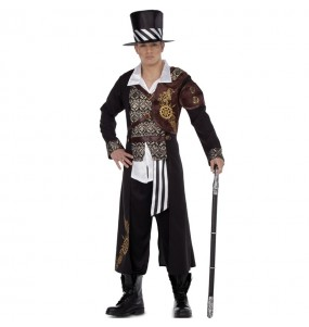 Travestimento Lord Steampunk adulti per una serata in maschera