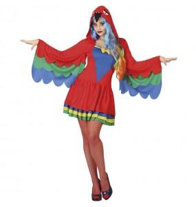 Costume da Pappagallo per donna