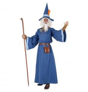Travestimento Mago Merlino adulti per una serata in maschera