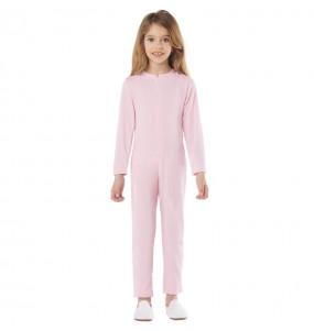 Costume da Body rosa spandex per bambini
