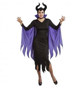 Costume da Maleficent sinistra per donna