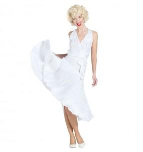 Travestimento Marilyn Monroe Deluxe donna per divertirsi e fare festa