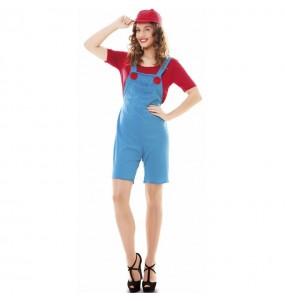Costume da Super Mario per donna